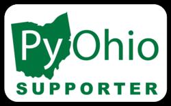 PyOhio supporter sticker